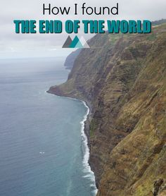 """""""You have to go to the western most point in Madeira"""" said Jack...These were the words that hunted me for the whole day. """"You will feel as if you reached the end of the world"""". And so, I went on an adventure and I indeed discovered the most impressive sight I have ever seen. Click to read How I found the end of the world in Ponta do Pargo, Madeira..."""