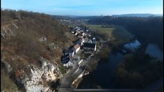 Rechtenstein (Southern Germany) - from above. Southern, Germany, Mountains, Landscape, Places, Nature, Travel, Stones, Lugares