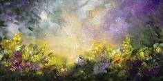 Fantasy Garden, Landscape Painting by Marina Petro, painting by artist Marina Petro