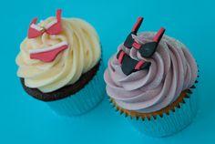 Bikini Cupcakes Personalised Cupcakes, Sweet Tooth, Bikini, Beach, Desserts, Food, Custom Cupcakes, Tailgate Desserts, Deserts
