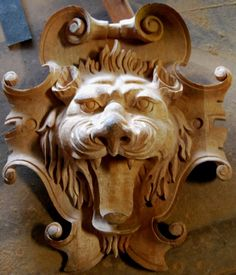 Kartuše lví hlava