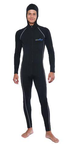 8c624ac0ea36a Uv protection stinger swimsuit dive skin with hood silver for men. Men s SwimsuitsSwimwearFull  BodyHoodsFor MenButSurf