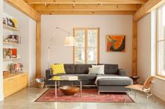 It's a little more minimalist than I might want, but I love that there is color and it's good to see an idea including the concrete floor. 19 Modern Minimalist Home Interior Design Ideas