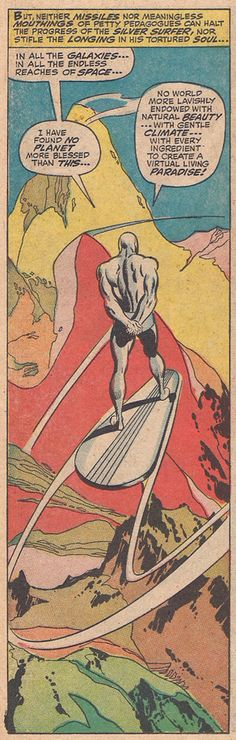 Silver Surfer by John Buscema