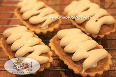 Peanut Boat Tart Recipe www. - Filipino Recipes Portal - Peanut Boat Tart Recipe www. Peanut Boat Tart Recipe www. Filipino Desserts, Filipino Recipes, Easy Desserts, Dessert Recipes, Pinoy Dessert, Filipino Food, Sweet Pie, Sweet Tarts, Boat Tart Recipe