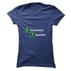 Chemistry Teacher Breaking Bad T-Shirts, Hoodies. CHECK PRICE ==► https://www.sunfrog.com/Automotive/Chemistry-Teacher-Breaking-Bad-qcyrscqptn-Ladies.html?id=41382