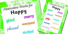 happy words list - Google Search