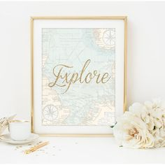 Make any room a little bit more travel-themed with this print. | 21 Things Every Travel Addict Needs In Their Apartment Immediately