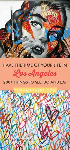 200+ Things to see, do and eat in Los Angeles, #California – Travel and Vacation Tips / Ideas – Here is my ultimate bucket list for Los Angeles.  These are my top choices for attractions, restaurants, beaches, viewpoints, getaways and much more! From Downtown to Santa Monica, recommendations from a 14+ resident! #LosAngeles #LA