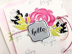 Homespun with Heart: Make It Market kit: Beautiful Brushstrokes...