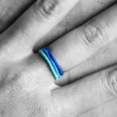 Cotton Wrapped Wire Rings