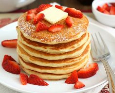 How To Make Buttermilk Pancakes - #pancake, #recipe, #buttermilk