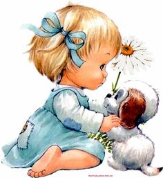 Viva Jujuy Cute Images, Cute Pictures, Baby Painting, Baby Drawing, Holly Hobbie, Children Images, Disney Wallpaper, Vintage Pictures, Vintage Children