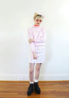Baby pink kawaii outfit #valentinesdayoutfit