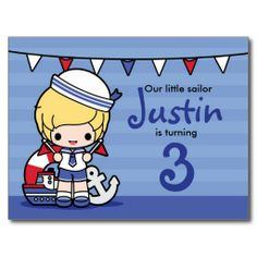 $$$ This is great for          	Little Sailor Boy Birthday Invitation Postcard           	Little Sailor Boy Birthday Invitation Postcard we are given they also recommend where is the best to buyReview          	Little Sailor Boy Birthday Invitation Postcard Review from Associated Store with th...Cleck Hot Deals >>> http://www.zazzle.com/little_sailor_boy_birthday_invitation_postcard-239646314872582141?rf=238627982471231924&zbar=1&tc=terrest