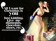 Yes, Chocolate and Shoes will do!
