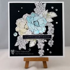 Hi everybody, sharing my DT card for My Mum's Craft Shop  today.     Now this stamp set is from Altenew called Beautiful Day and it i...