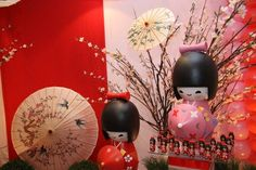 Aniversário Tema: Bonequinhas Kokeshi | Coisas da My [ Cat: aniversario  ]