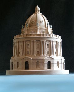 Timothy Richards architectural model of Oxford's Radcliffe Camera