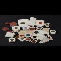 Empreintes de sceau, XIXe siècle