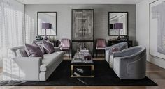 Colour Combinations: Purple & Grey