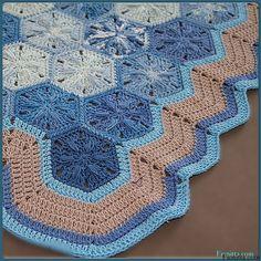 My crochet Hexagons~ Fionitta