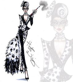 "Cruella de Vil collection by Hayden Williams ""Spot On Dahl… 