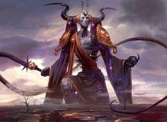 Erebos, God of the Dead, Peter Mohrbacher on ArtStation at https://www.artstation.com/artwork/k4RK