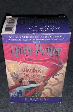 Harry Potter And The Chamber Of Secrets by J. K. Rowling Audio Book Tapes 2000