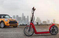 MINI ブランドの折り畳み電動スクーター「MINI Citysurfer Concept」 - えん乗り