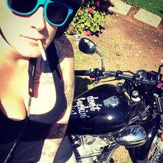 Real Biker Women bobbers_n_choppers