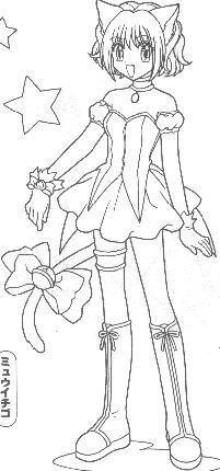 tokyo mew ichigo coloring pages - photo#19