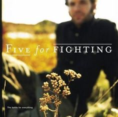 Five for Fighting: The Battle for Everything - Honestly, what's not to love?