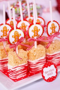 Adorable Candy Cane Rice Krispie Treats 500x750 10 Super Fun, Christmas Rice Krispie Treat Ideas