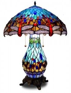 love this dragonfly lamp and shade