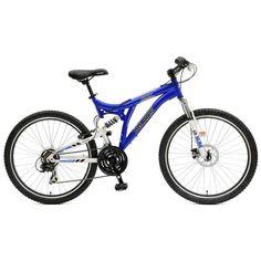 Polaris RMK Full Suspension Bike - Men, Blue