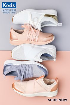 e528023ea4a Our all-female design team are experts in creating sneakers that fit just  right for