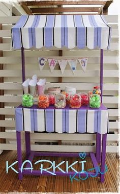 Candy stand  for JoJo's Candy birthday party