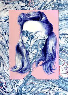 Marbling - Nuria Riaza (2014)