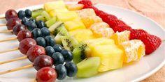 Spiedini di frutta: 10 ricette per tutti i gusti