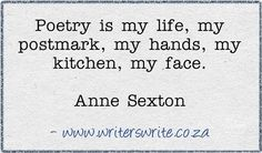 Find out more about Anne Sexton ~~~~~ Writers Write offers the best writing courses in South Africa. Literary Quotes, Writing Quotes, Writing A Book, Famous Author Quotes, Famous Words, What Is Poetry, Anne Sexton, Classic Poems, Poetry Activities