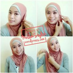 Hijab how to: Casual look