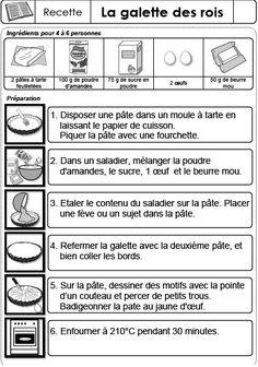 Francés en la UPP: La galette des rois French Celebrations, Galette Des Rois Recipe, French Resources, Thing 1, Bastille, French Language, Food And Drink, Education, Sentiments