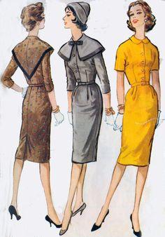 Vintage 50s McCalls 5220 ROCKABILLY Slim Skirt by sandritocat