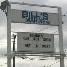 Silly sign