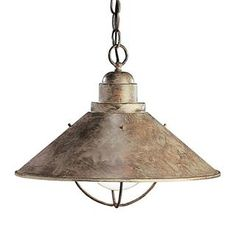 Check out the Kichler Lighting 2713OB Seaside Olde Brick Pendant priced at $114.00 at Homeclick.com.