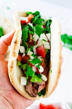 These leftover lamb gyros take lamb to the next level. Locked and loaded with lamb, onion, tomatoes, lettuce, and homemade tzatziki sauce, these gyros are a hit! Do you love gyros as much as I do? I seriously could eat one every.single.day. Not lying. We came up with these leftover lamb roast gyros because we...