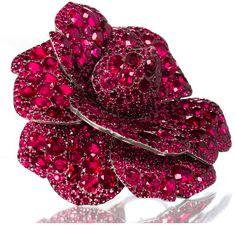 Rosamaria G Frangini | High Red Jewellery | FlowerEssence | Rubies