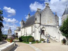 Photo of Loches in the Loire region of France
