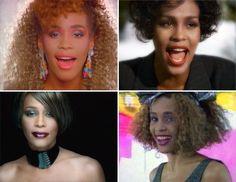 Whitney's Style Evolution - A fashionista through the decades